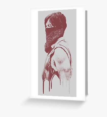 Daryl - The Walking Dead Greeting Card