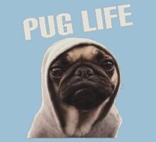 Pug Life Funny One Piece - Short Sleeve