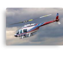 Bell 206B-2 Jetranger II G-RAMY Canvas Print