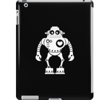 Cute Robot 7 White iPad Case/Skin