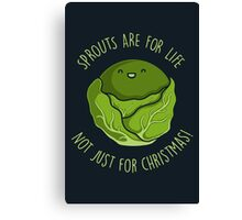 Sprouts Are For Life Canvas Print