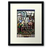 The Idylls Of The King Framed Print