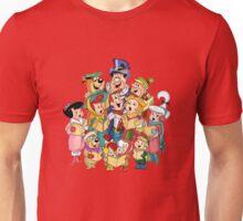 The Flintstones & The Jetsons Christmas  Unisex T-Shirt
