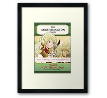 Buffalo Bill And The Pony Express: Cover Framed Print