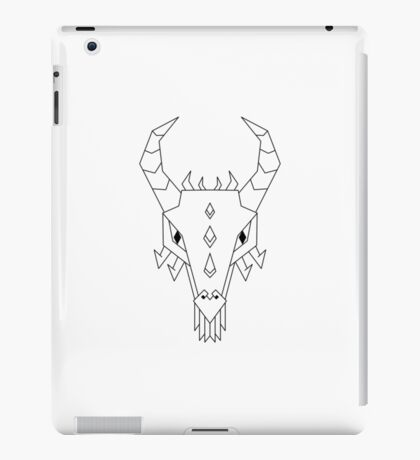 Geometric Dragon iPad Case/Skin