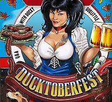 SheVibe Presents Ducky DooLittle Cover Art - Ducktoberfest! by shevibe