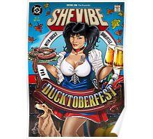 SheVibe Presents Ducky DooLittle Cover Art - Ducktoberfest! Poster