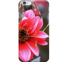 The Pink Red Flower iPhone Case/Skin