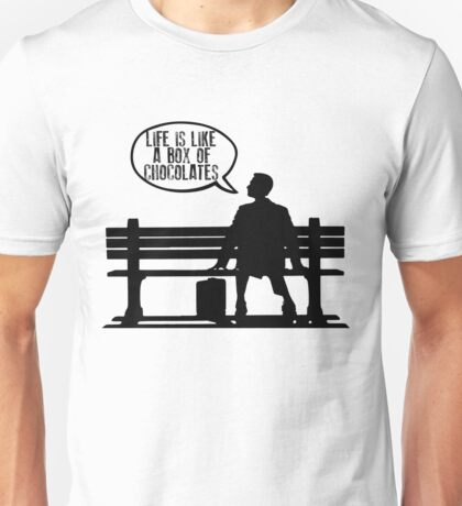 Forrest Gump - Life is like a box of chocolates Unisex T-Shirt