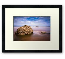 Reighton Sands Framed Print