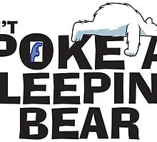 Don't POKE a Sleeping Bear by Conjon863