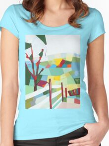 Fancy Fence Women's Fitted Scoop T-Shirt