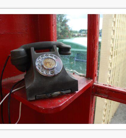 Rotary Dial Sticker