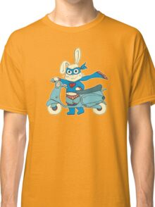 Be-All-You-Can-Be Bunny Rides in to Save the Day Classic T-Shirt