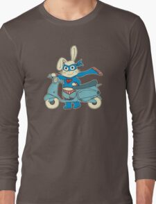 Be-All-You-Can-Be Bunny Rides in to Save the Day Long Sleeve T-Shirt