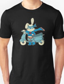 Be-All-You-Can-Be Bunny Rides in to Save the Day T-Shirt