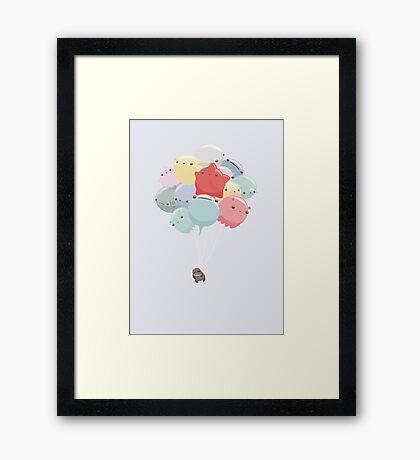 Balloon Animals Framed Print
