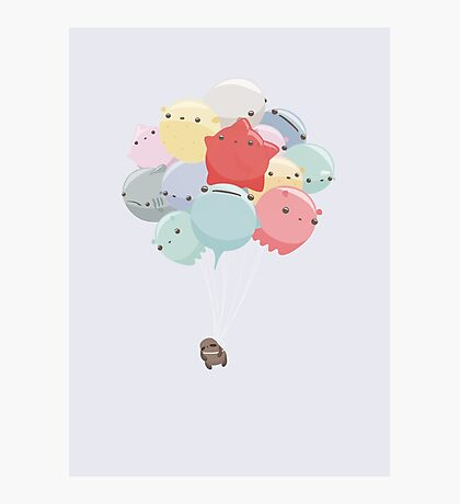Balloon Animals Photographic Print