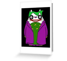 TotoJoker Greeting Card