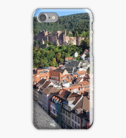 Heidelberg Castle & Rooftops iPhone Case/Skin
