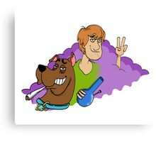 Scooby Doob Canvas Print
