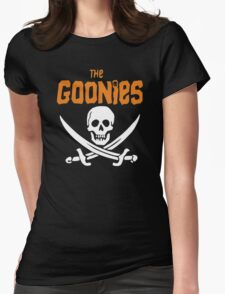 The Goonies Pirate Womens Fitted T-Shirt