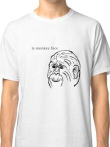 Le' Monkey Face Classic T-Shirt