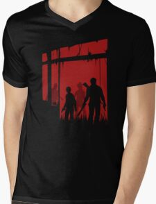 Last people Mens V-Neck T-Shirt