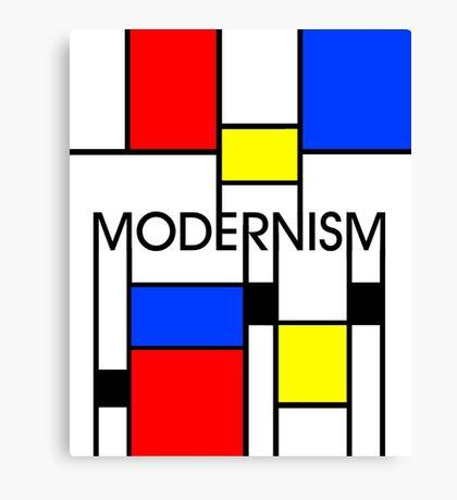 Modernism Canvas Print