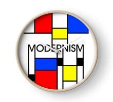 Modernism Clock