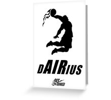 Darius Dunkius Greeting Card