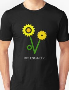 Bio Engineer White Unisex T-Shirt