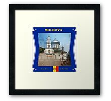 Moldova - Deep River Valley Cliffs Framed Print
