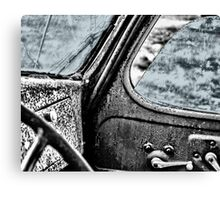 Car back to the Past Canvas Print