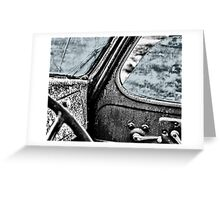 Car back to the Past Greeting Card