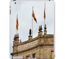 Banco de Espana iPad Case/Skin