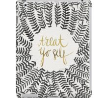 Treat Yo Self – Gold & Grey iPad Case/Skin