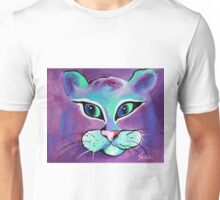 Mr. Fluffy - Cat Art by Valentina Miletic Unisex T-Shirt