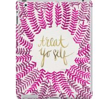 Treat Yo Self – Gold & Pink iPad Case/Skin