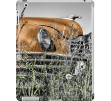 Car in the Past iPad Case/Skin