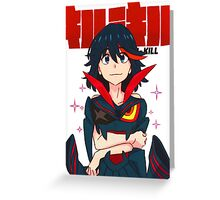 KILL LA KILL - WE CAN BE AS ONE Greeting Card