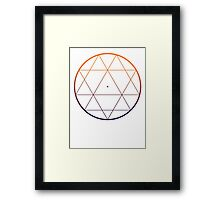 Durga Yantra, Sacred Geometry Framed Print