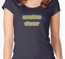 Sunshine Chaser Women's Fitted Scoop T-Shirt