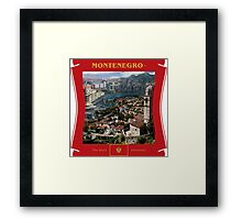 Montenegro - The Black Mountain Country Framed Print