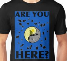 Are You Here, FLAT EARTH? Unisex T-Shirt