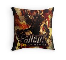 Fallout New Vegas Throw Pillow