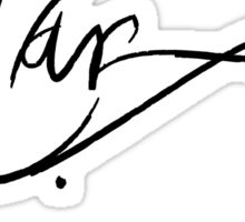 Cesare Borgia's Signature Sticker