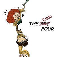 The Chibi Four by aelita15