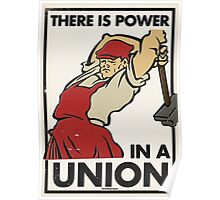 There Is Power in a Union Poster
