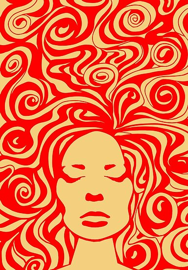 Quot 60s Psychedelic Quot Posters By Khuship Redbubble
